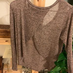 Sweaters - knit long sleeve sweater